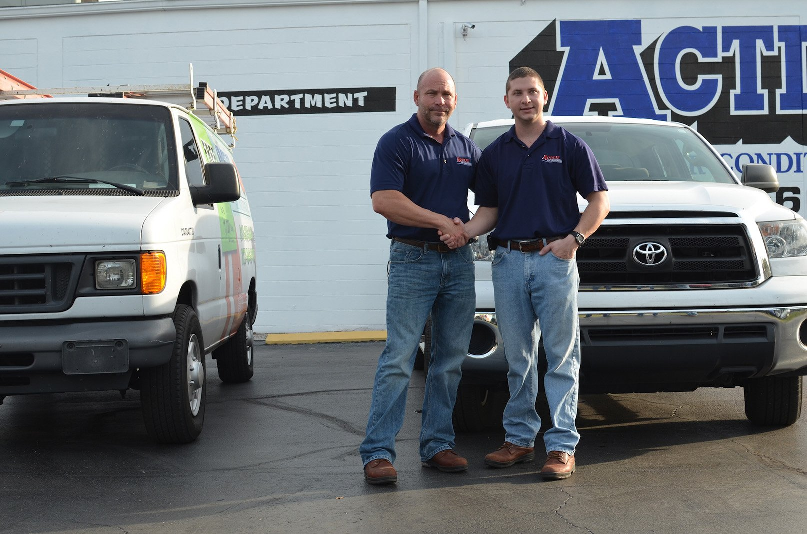 Experienced Team at Action Air Conditioning